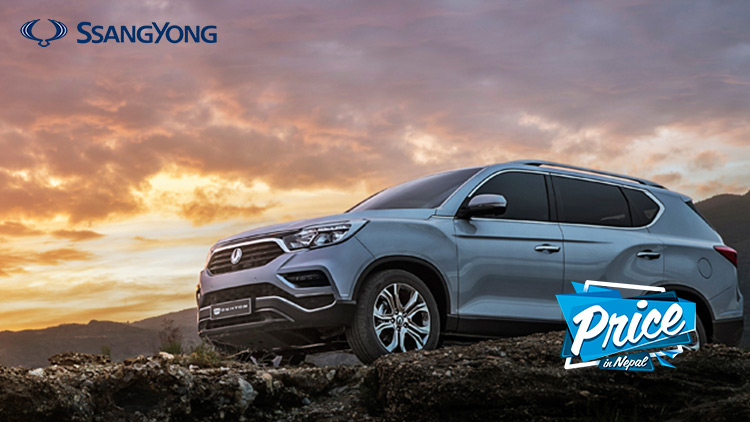 Ssangyong Cars Price in Nepal