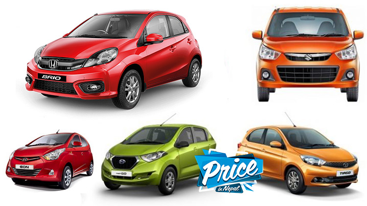 Cars under 25 Lakhs Price In Nepal
