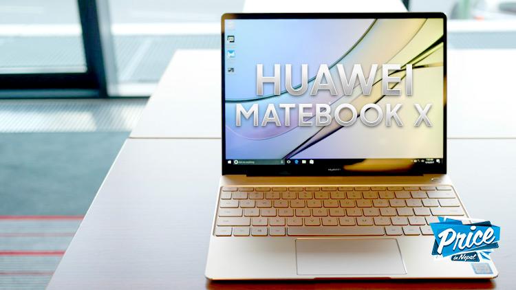 Huawei-MateBookX-Price-Nepal